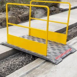 Voertuig- en voetgangersovergangen